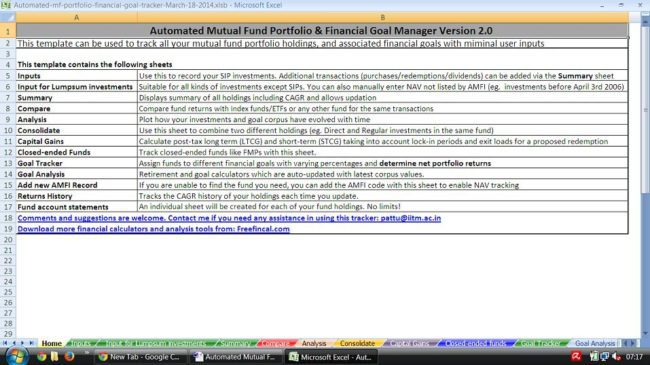 Mutual Fund Portfolio Tracker