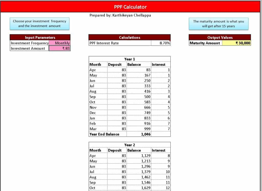 Excel-PPF-calculator-and-tracker-1