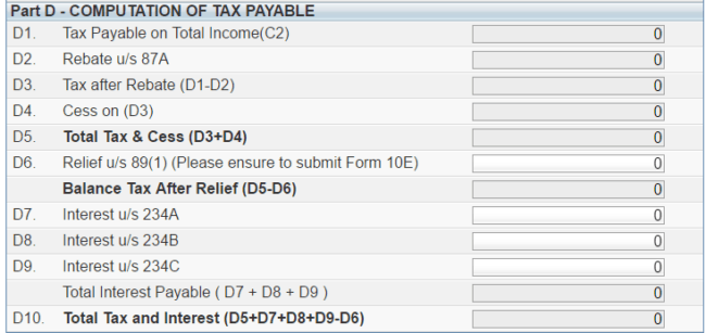 ITR1 fig7 650x307 - Guide to efile Income Tax Return For AY 2017-18