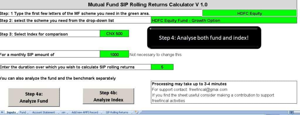 Rolling-SIP-Returns-Calculator