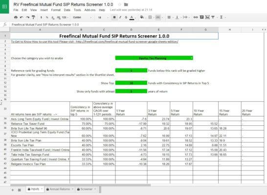 Mutual-fund-SIP-screener