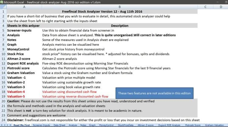 stock-analysis-spreadsheet