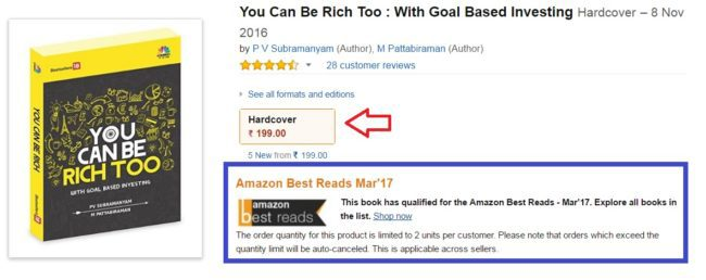 Amazon best reads offer 650x258 - Freefincal Q/A: CAGR vs Absolute Return - Can I convert one to another?