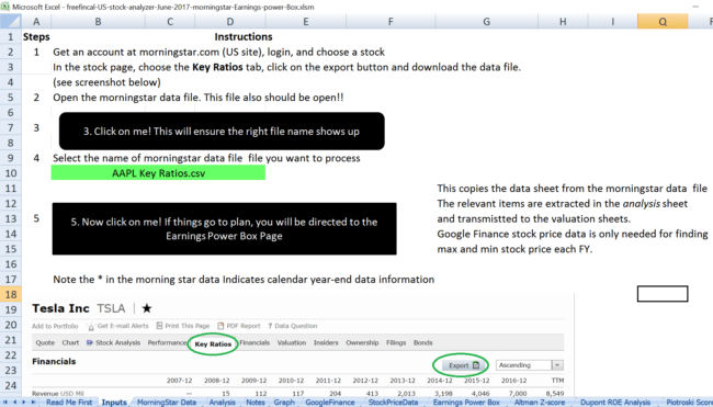 us stock analysis spreadsheet morningstar 650x371 - Stock Analysis Spreadsheet for U.S. Stocks: Free Download