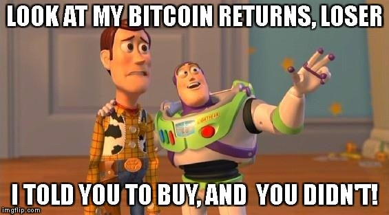 Bitcoins returns - If Bitcoin becomes expensive and popular in future, should I buy some now?!