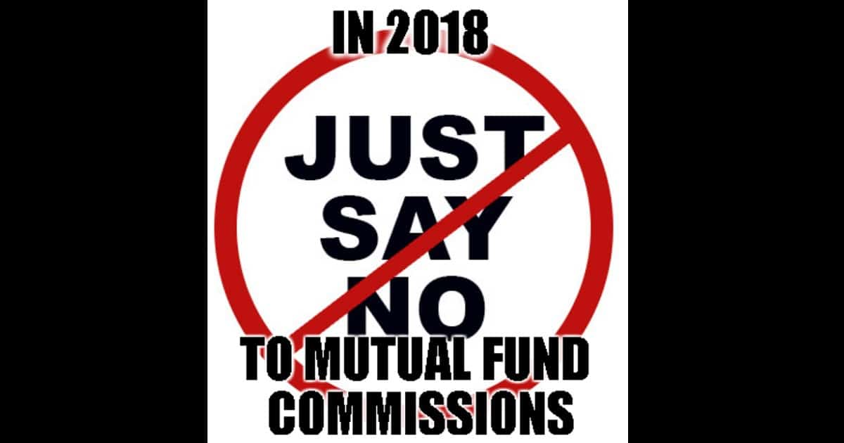Just say no FB - Use Mutual Fund Star Ratings to understand how much you lose via commissions