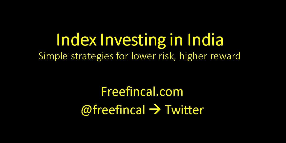 Index investing options in India