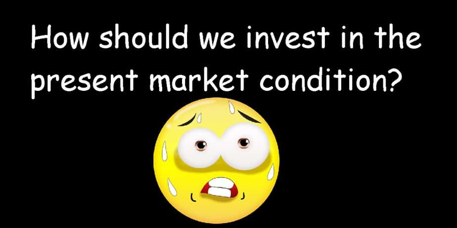 How to handle thepresent market condition