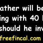 My father will be retiring with 40 lakhs how should he invest?