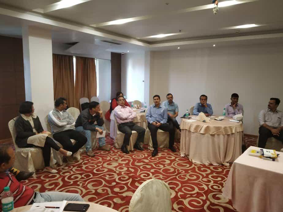 fee-ony advisors meet Bangalore participants