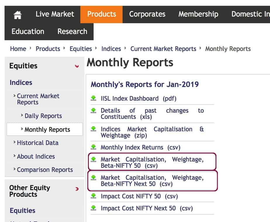 How to create your own low volatility momentum stock list from NSE monthly reports