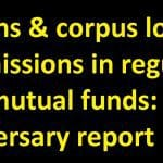 Returns & corpus lost to commissions in regular plan mutual funds: 6th anniversary report