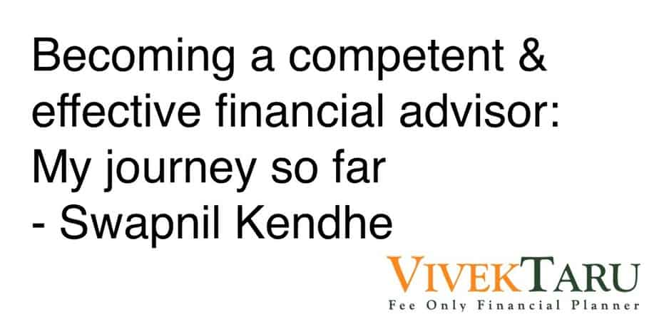 How to become a successful, competent & effective financial advisor