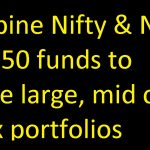 Combine Nifty & Nifty Next 50 funds to create large, mid cap index portfolios