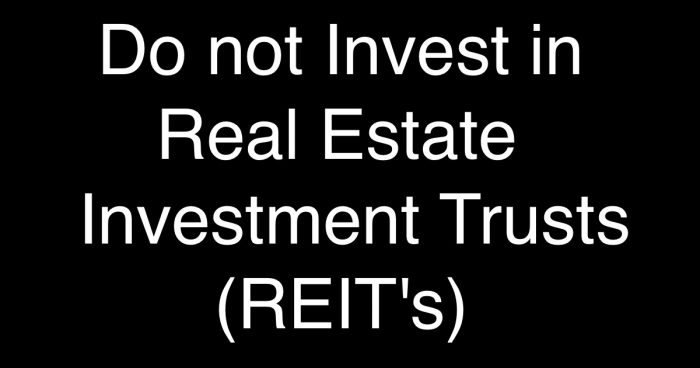 Avoid Real Estate Investment Trusts (REIT's) & InvITs! FAQ on Basics