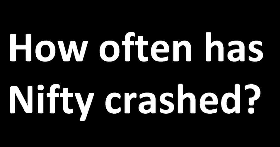 How often has the Nifty crashed?