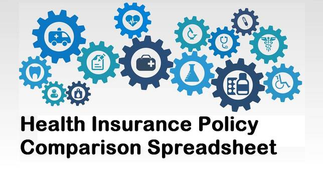 Download a Health Insurance Policy Comparison Spreadsheet