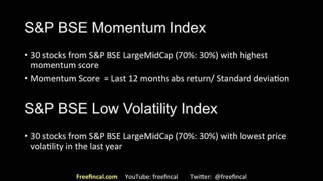 momentum and low volatility stock investing in India slide 20