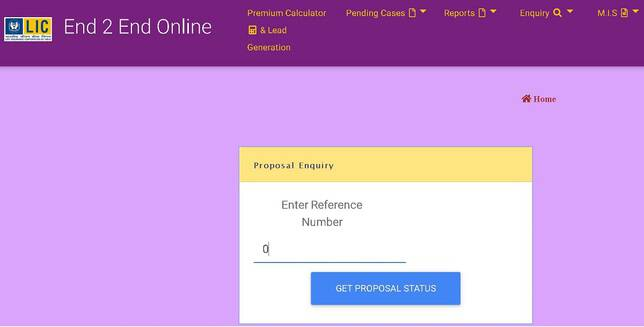 LICs Tech Term How to buy online step eight policy proposal status