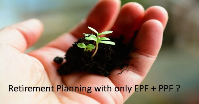 Retirement planning with EPF and PPF alone with no equity