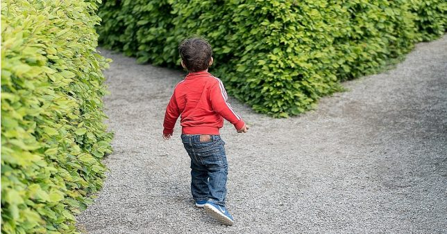 Image if a child trying to choose between two paths representative of 11 Investment mistakes to avoid in 2020