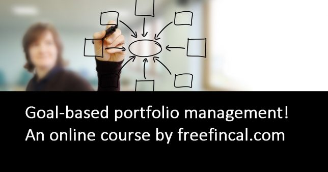 Launching 9th Jan: Online Course on Goal-based portfolio management!