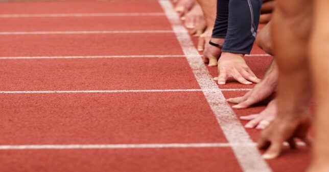 runners at the start line impatient to get going which is the biggest rookie mistake when it comes to investing