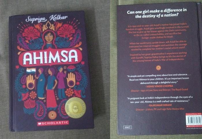 Ahimsa by Supriya Kelkar front and back cover