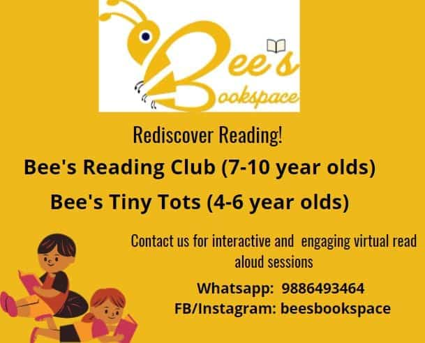 Bees Books space FB cover image